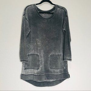 Soft Surroundings Charcoal Afternoon Walk Tunic